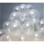 【READY STOCK】10 inches Transparent Clear Latex Balloon ( 20pcs )