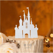 image of 【READY STOCK】DIY Castle / Princess / Frozen Theme Birthday CakeTopper/Cake Stand