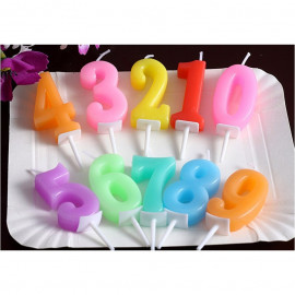 image of 【READY STOCK】Numbering Birthday Cake Candle