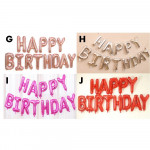 【READY STOCK】NEW DESIGN Hanging Happy Birthday Word Balloon Set