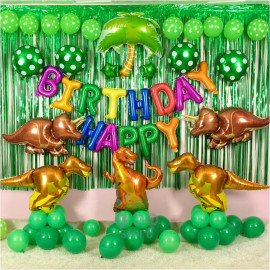 image of 【READY STOCK】Dinasour/Jurassic Theme Birthday Party Decoration Balloon Set