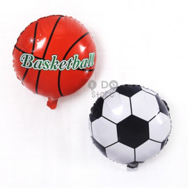 image of 【READY STOCK】18inch Football/Basketball Foil Balloon