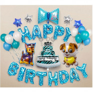 image of 【READY STOCK】PAW Patrol Birthday Party Balloon Set ( BLUE )