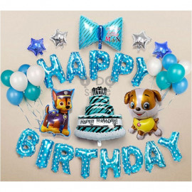 image of 【READY STOCK】PAW Patrol Birthday Party Balloon Set ( BLUE )