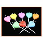 【READY STOCK】Love/Heart Shape Birthday/Wedding Cake Candle