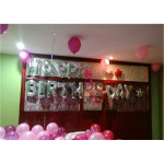 【READY STOCK】Adult Birthday Party Balloon Set ( Pink and Rose Pink )