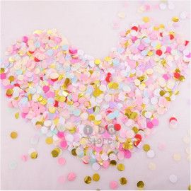 image of 【READY STOCK】Bubble Balloon / Transparent Balloon Confetti ( 2.5cm , 10g )