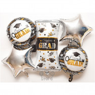 image of 【READY STOCK】Big Happy Graduted/Graduation/Convo Party Balloon
