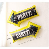 image of 【READY STOCK】Big Party Indicator / Arrow Foil Balloon