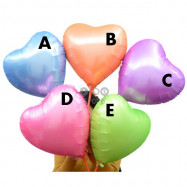 image of 【READY STOCK】18inch Candy Colour Star / Heart / Love Shape Foil Balloon
