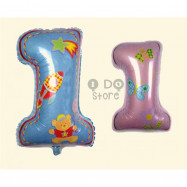 image of 【READY STOCK】BIG 1st Birthday Foil Balloon