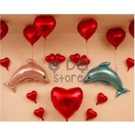 image of 【READY STOCK】Dolphin Propose Balloon Set