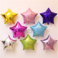 image of 【READY STOCK】18inch Star Shape Foil Balloon
