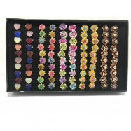 image of New 100pcs Wholesale Mix Design Baby Brooch With Box Ready Stock