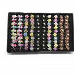 New 100pcs Wholesale Mix Design Baby Brooch With Box Ready Stock