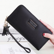 image of C29 Forever Young Simple Stylish Zip Lady Long Purse Ready Stock