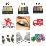 Wholesale Price Longlasting 3 Colors Palette Eyeshadow Ready Stock