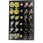 Wholesale Mix Design Brooch Bahu [ Match Design & Match Color ] 30pcs with Box