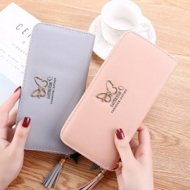 image of C30 New Simple Stylish Lady Zip Purse Good Product Quality Ready Stock