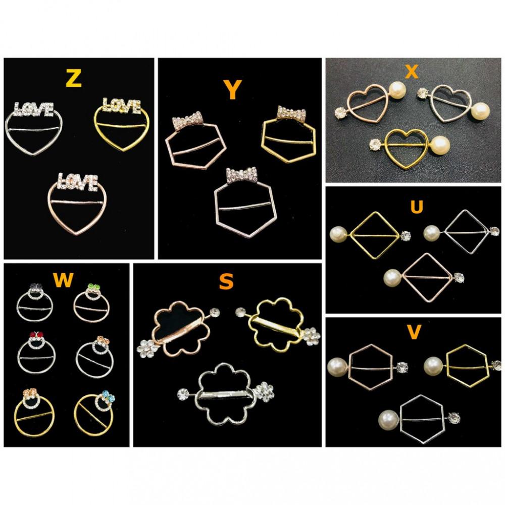 High Quality Batu Korea Ring Tudung Scarf Ring Ready Stock Wholesale