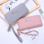 C34 Moon Diamond Design Ladies Clutch Long Purse Wallet Ready Stock