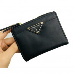Forever Young Short Zip Purse with Coin Pouches & Card Holder