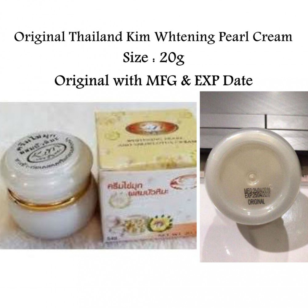 Original Thailand Kim Whitening Pearl AND Snow Lotus Cream Ready Stock