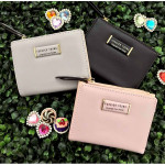 New Forever Young H518-4 Short Lady Purse with Zip & Card Holders Ready Stock