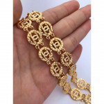 Quality Emas Korea Rantai Tangan Gold Plated Bracelet Ready Stock