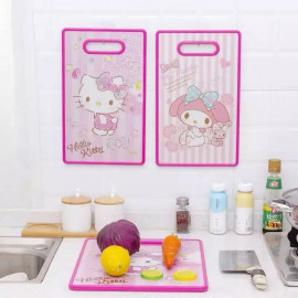 image of Chopping Board Hello Kitty & Melody Kitchen Accessories Ready Stock