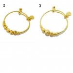 ❤Quality Emas Korea Gold Plated Adjustable Kids Bangle❤