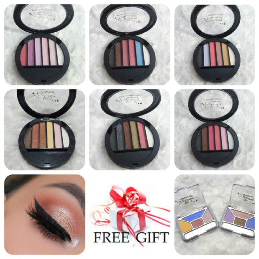 Ready Stock Makeup Eye Shadow 6 Color Palette