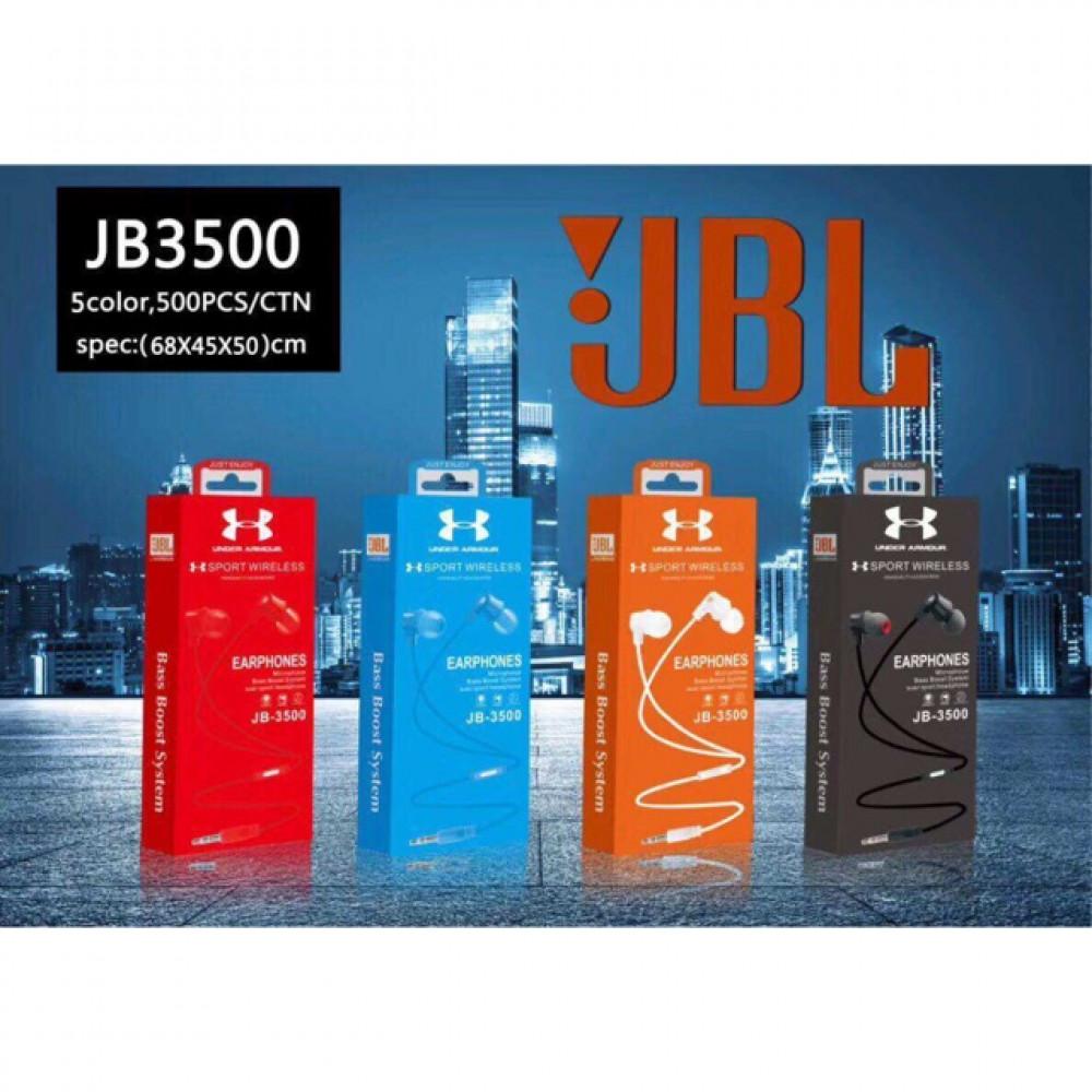 Original JBL 3500 Wired 3.5mm In-Ear Earphones Ready Stock