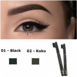 image of Eyebrow & Eyeliner Long Wearing Pencil Ready Stock
