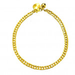 40mmEmas Korea X98 Rantai Tangan Gold Plated Bracelet Ready Stock