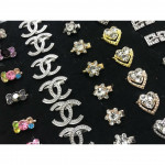 X70 - Mix Design Rhinestone Baby Brooch 100pcs Ready Stock with Box Wholesale