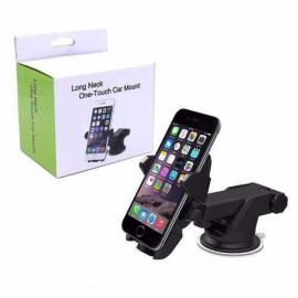 image of 360° Degree Rotation Car Phone Holder Automatic Locked for GPS Mobile Phone