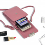 A219 Forever Young Cell Phone Purse with Long Strap Ready Stock