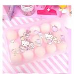 Hello Kitty Egg Storage Box Ready Stock