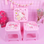 Hello Kitty & Melody Stool Good Product Quality Ready Stock