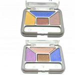Ready Stock Face Makeup Mini Eye Shadow 4 colors Palette