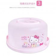 image of Cake Storage Box Hello Kitty & Melody Ready Stock
