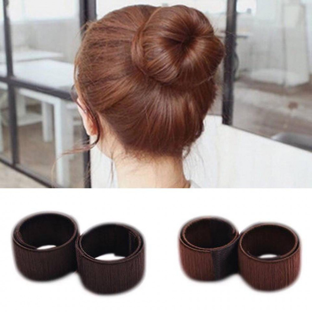 Ladies Hair Bun Styling Donut Twist Tool French Twist Band Maker Ready Stock