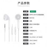 Original OPPO MH133 R9 3.5mm Headphones In-ear Stereo Sound Earphone
