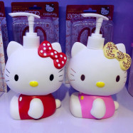 image of Hello Kitty Pink / Red Multi Purpose Bottle Ready Stock 600ml