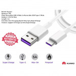 Huawei Super Charge 4.5A or 5A Adapter + Type C 5A Super Charging Cable