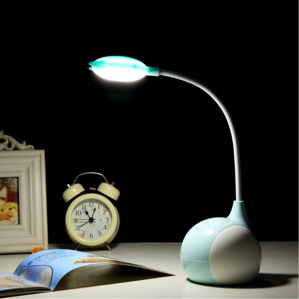 USB Charge Light Pole Bendable 3 Shift Light Table Lamp Ready Stock