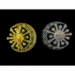 Bintang Bulan Batu Korea Brooch Pin Scarf Ring Ready Stock Wholesale