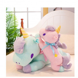 image of Soft Towel Material Unicorn Stuffed Toy 38cm Ready Stock