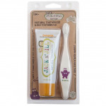 Jack N' Jill Bio Brush & Natural Toothpaste Set Original Australia Imported